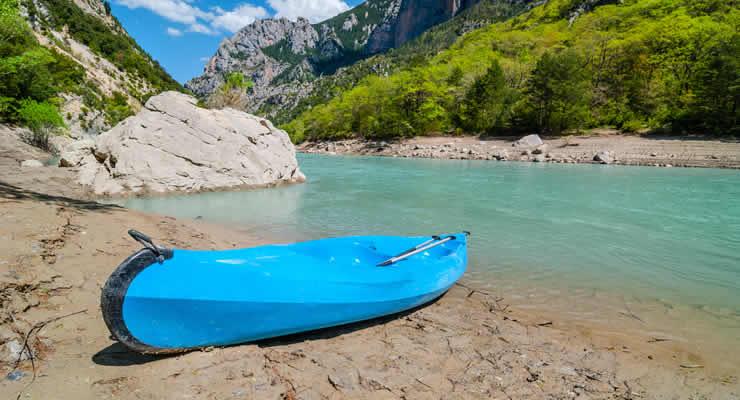 De Gorges du Verdon verkennen per kano