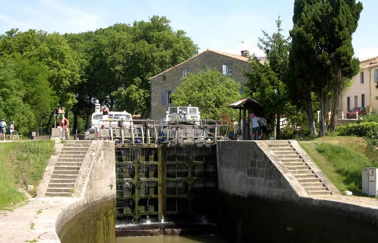 Canal du Midi bij Trèbes