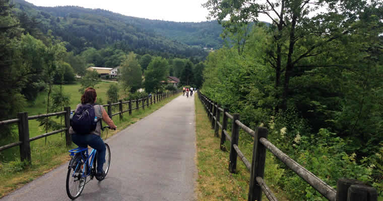 Voie vertes des Vosges
