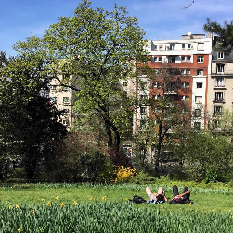 Voorjaar in Parijs