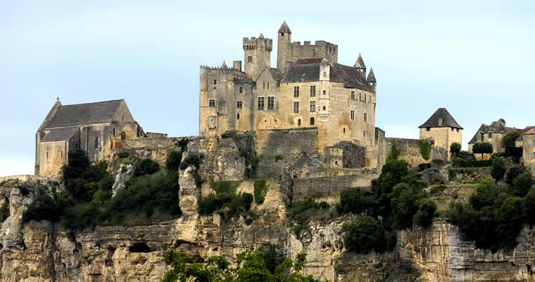 Kastelen in de Dordogne
