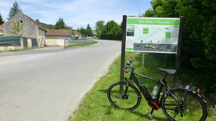 Met een E-bike fietsen in Frankrijk