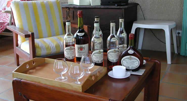 Armagnac proeven in de Gers