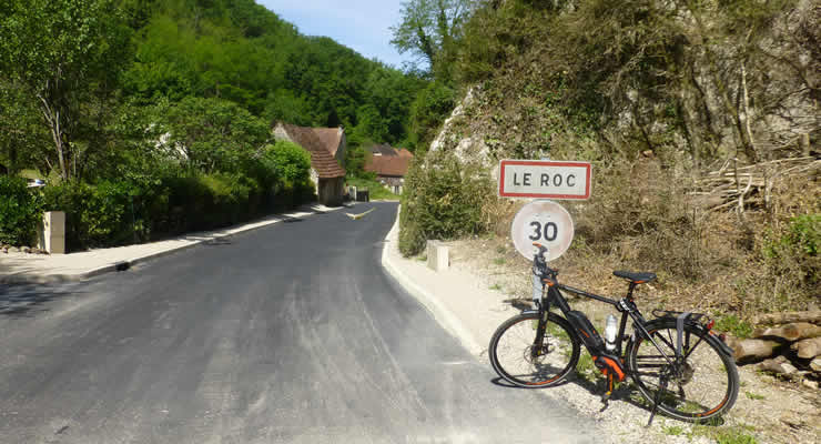 Met de e-bike bij de Dordogne