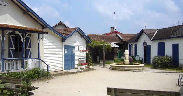 Dorpjes bij het Bassin d'Arcachon