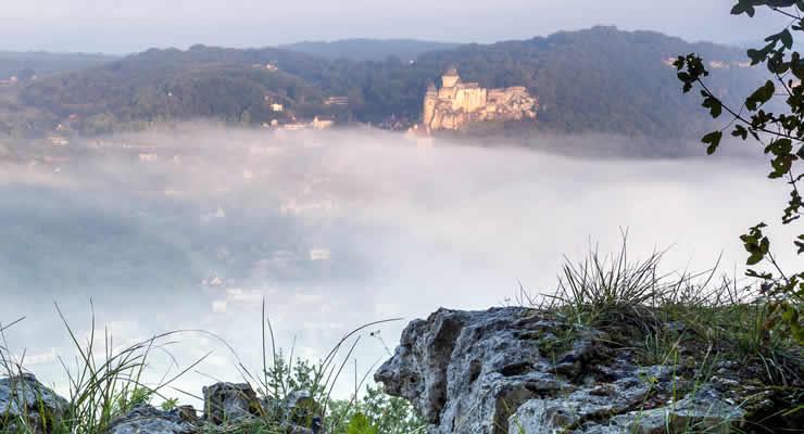 Kastelen langs de Dordogne