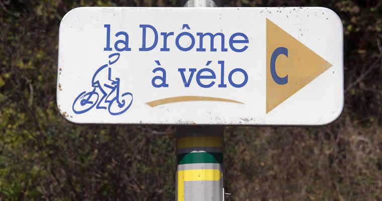 Wandelen en fietsen in de Drôme
