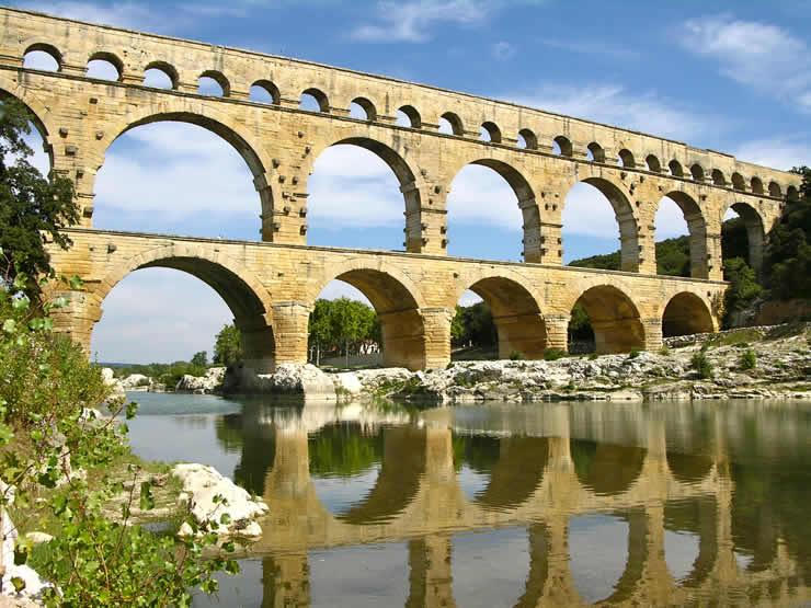 Vakantie bij de Pont du Gard