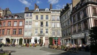 Rouen, verrassing aan de Seine