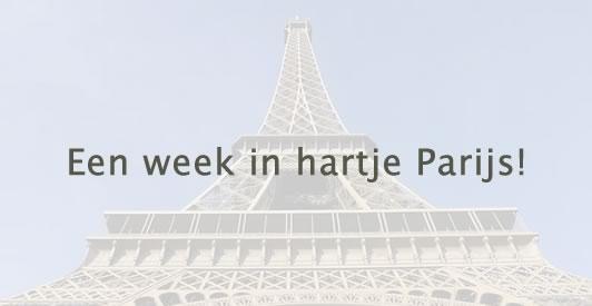 Een week in hartje Parijs
