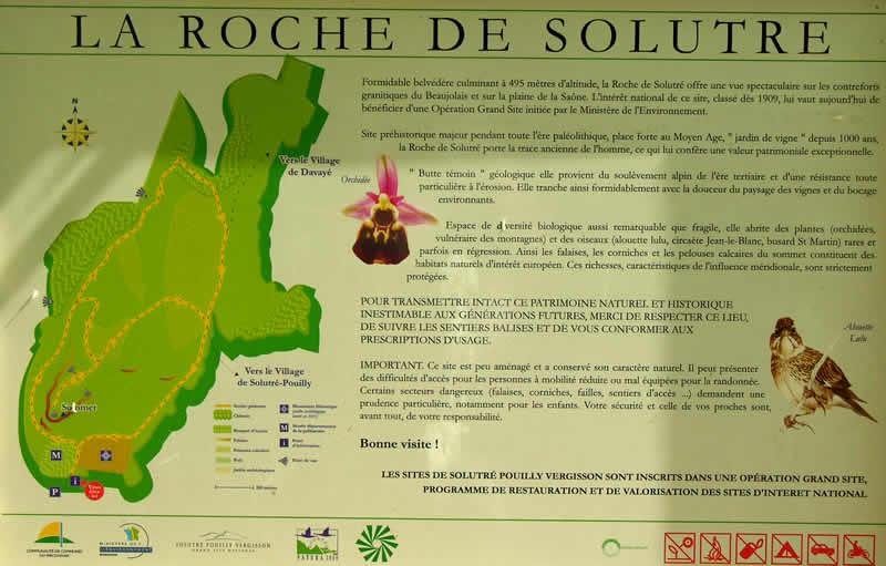 Toplunch op de Roche de Solutré