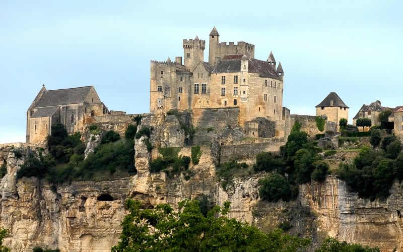 Kastelen van de Dordogne