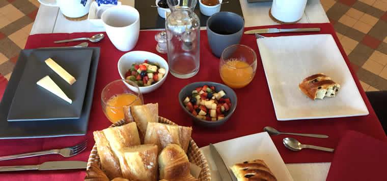Ontbijt in Riquewihr