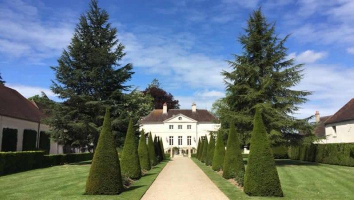 Chablis in de Bourgogne