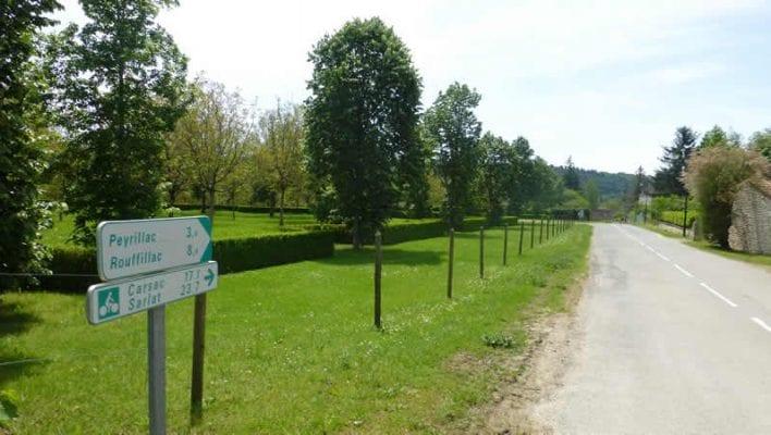 Op de e-Bike naar Sarlat over een Voie Verte langs de Dordogne