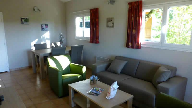Nieuw interieur voor vakantiehuisjes Village des Cigales