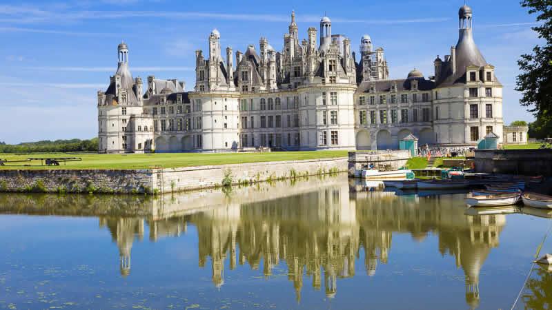 Auto Rondreis Loire: Chateau Chambord