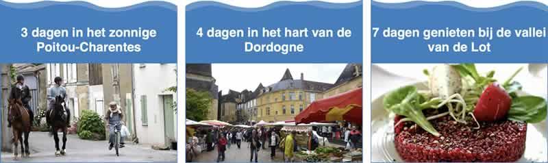 Rondreis Dordoge-Lot