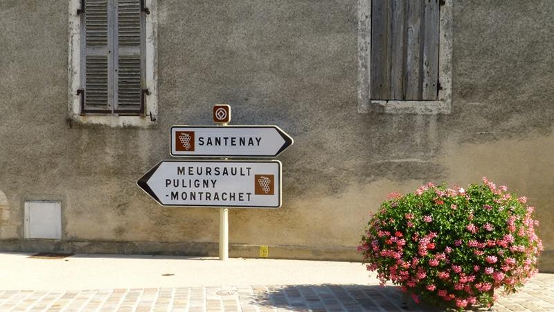 Fietsen in de Cote-d'Or naar Santenay