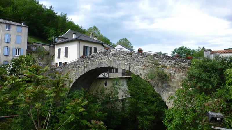 Le Vieux pont de Saint Jean de Bruel