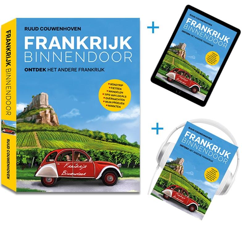 Aanbieding boek, e-book en luisterboek
