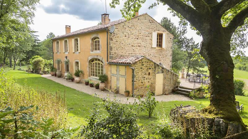 Luxe vakantiehuis in Frankrijk huren