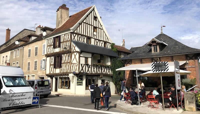 Wijndorp in de Bourgogne