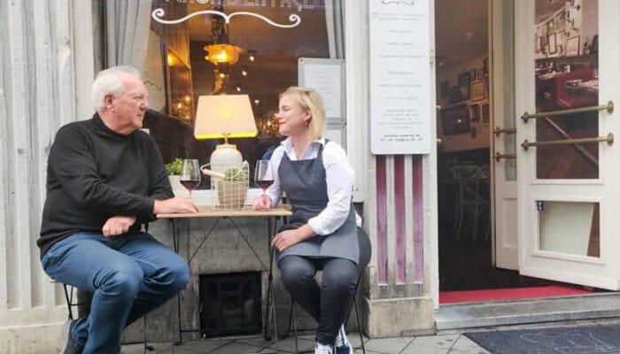 De traditionele keuken van Lyon in Bouchon d'en Face