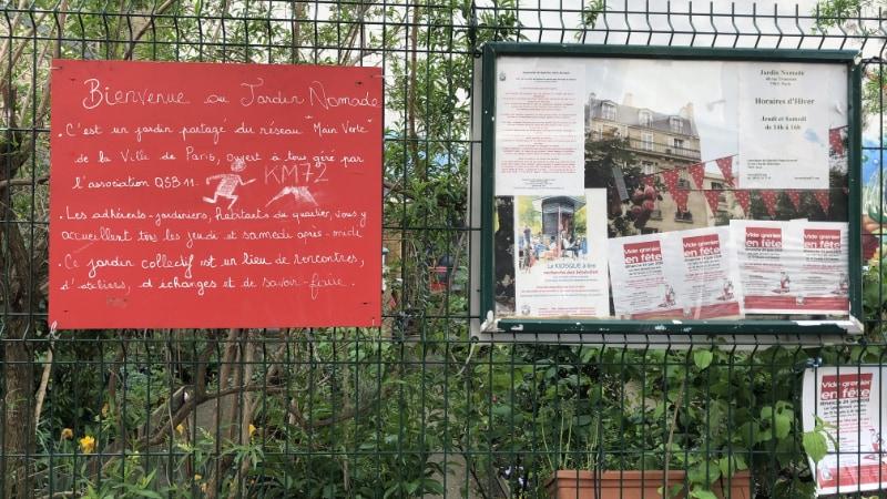 Charonne, een dorp in Parijs.