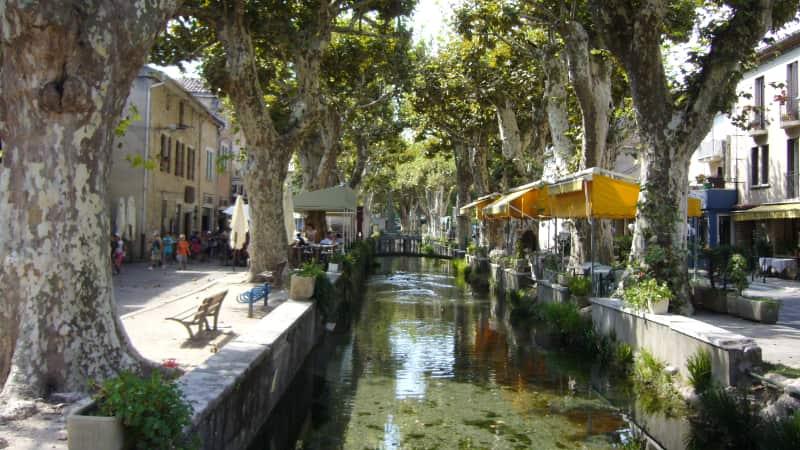 Goudargues, het Venetië van de Gard?