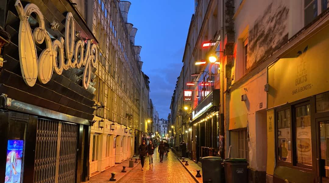 Een leuke uitgaansstraat in Parijs Rue de Lappe