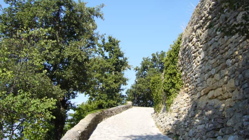 het historische Sabran