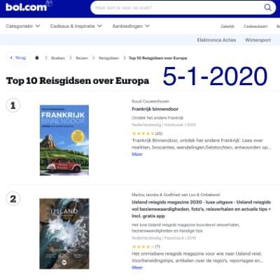Top 10 Reisboeken Bol.com