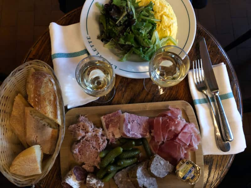 Lunch bij La Palette