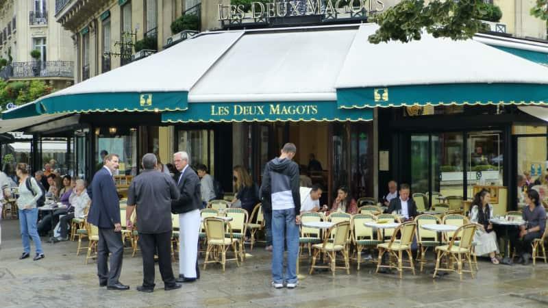 Les Deux Magots Parijs