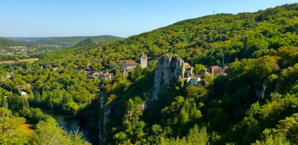 Mooiste dorp van de Lot? Saint-Cirq-Lapopie