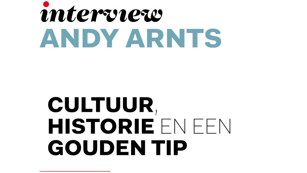 Andy Arnts, hoofdredacteur En Route