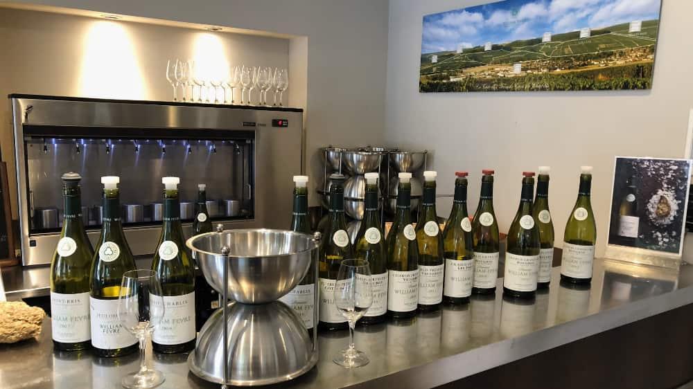 Wijn proeven en Wijn kopen in Chablis