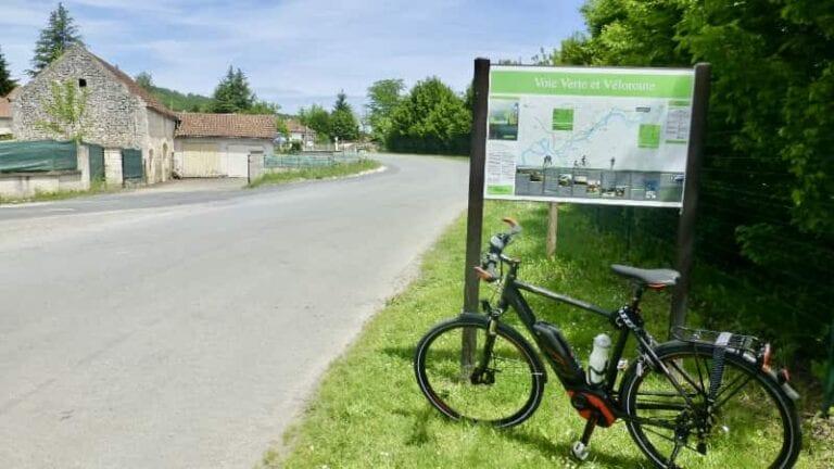 Op de e-bike bij de Dordogne