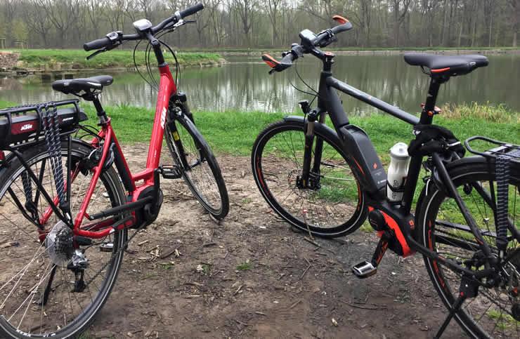 e-bike in Frankrijk