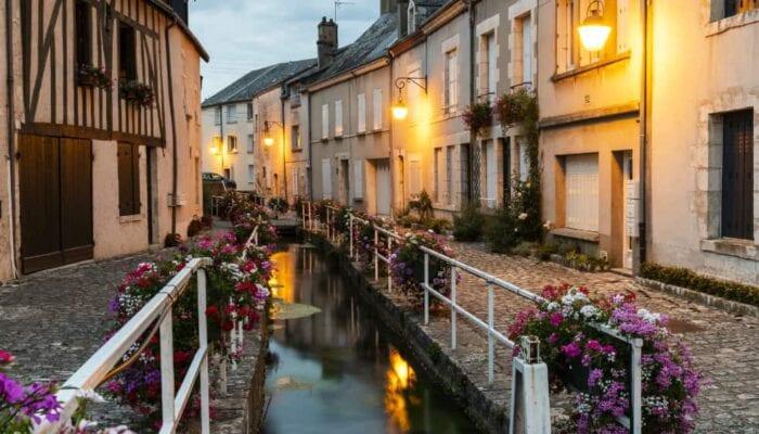 Beaugency bij de Loire