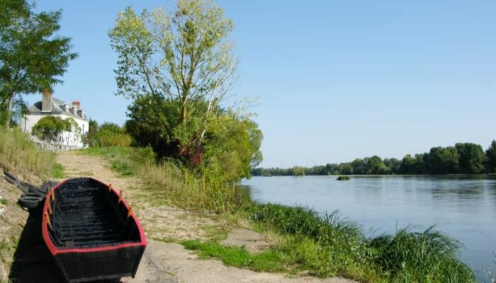 Fietsen bij de Loire