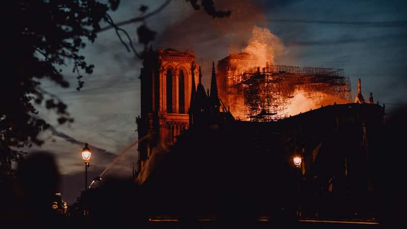 Brand! Notre Dame de Paris