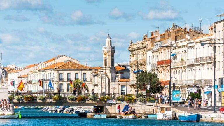 Naar de vismarkt in Sète
