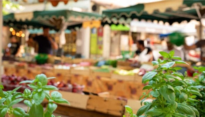 Provençaalse markt in Castellane