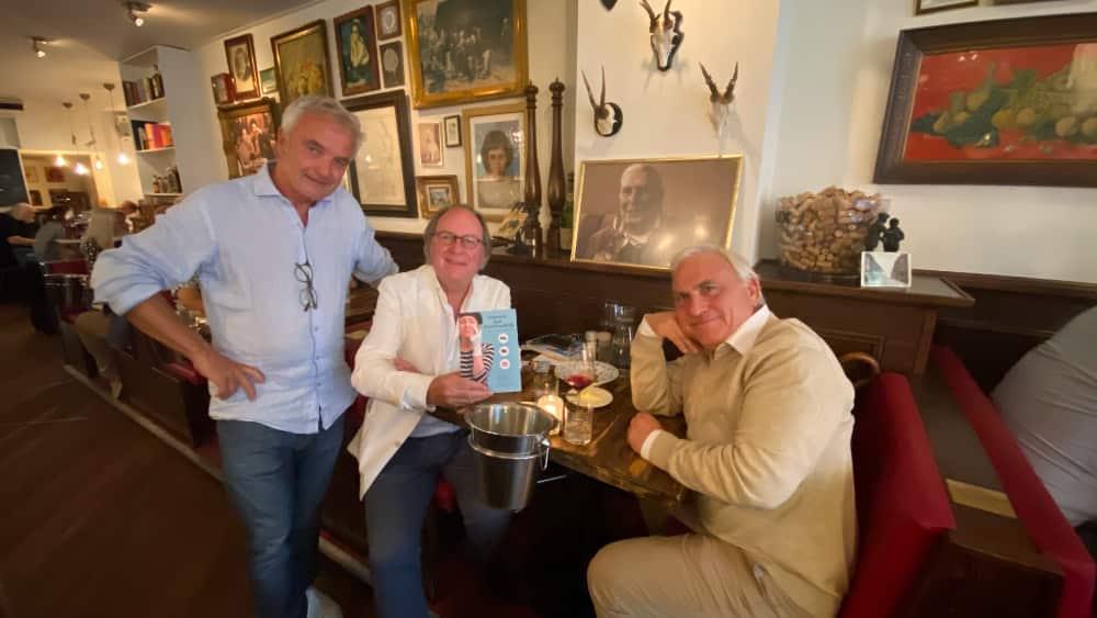Rik, Hans en Armand