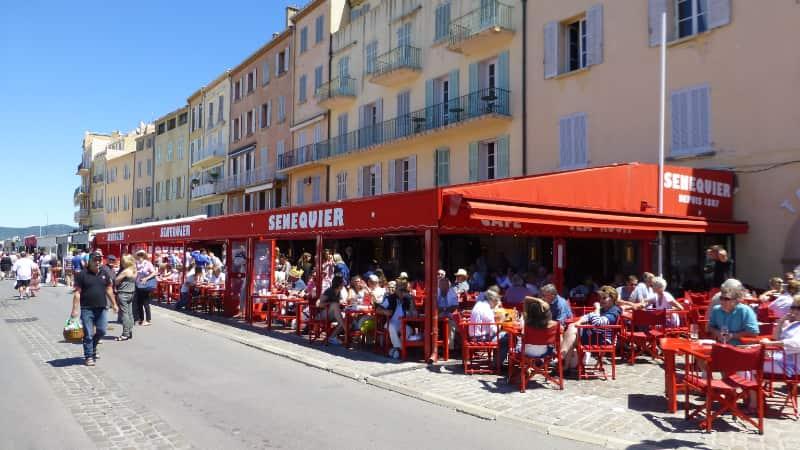 Sénéquier in Saint-Tropez