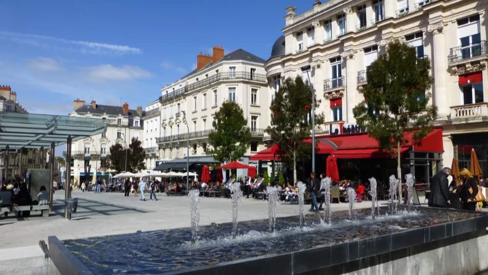 Angers, gezellige stad bij de Loire