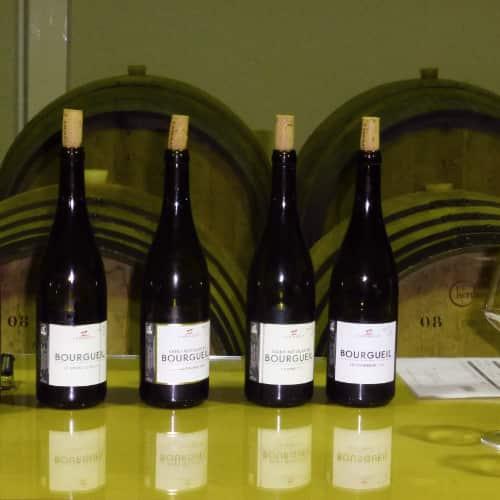 Wijnproeven in Bourgueil