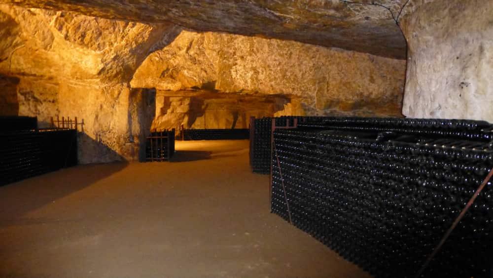 Indrukwekkende kelders van Le Chevalerie